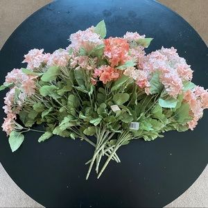 BNWT 10 silk floral hydrangea stems from Michaels